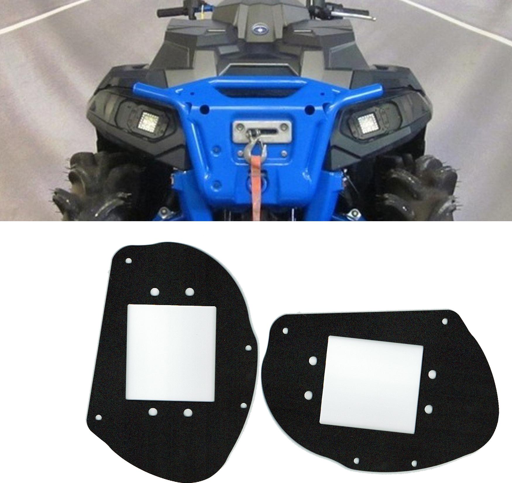Polaris Sportsman LED handlebar pod headlight halo ADAPTER ONLY 450 570 850 1000