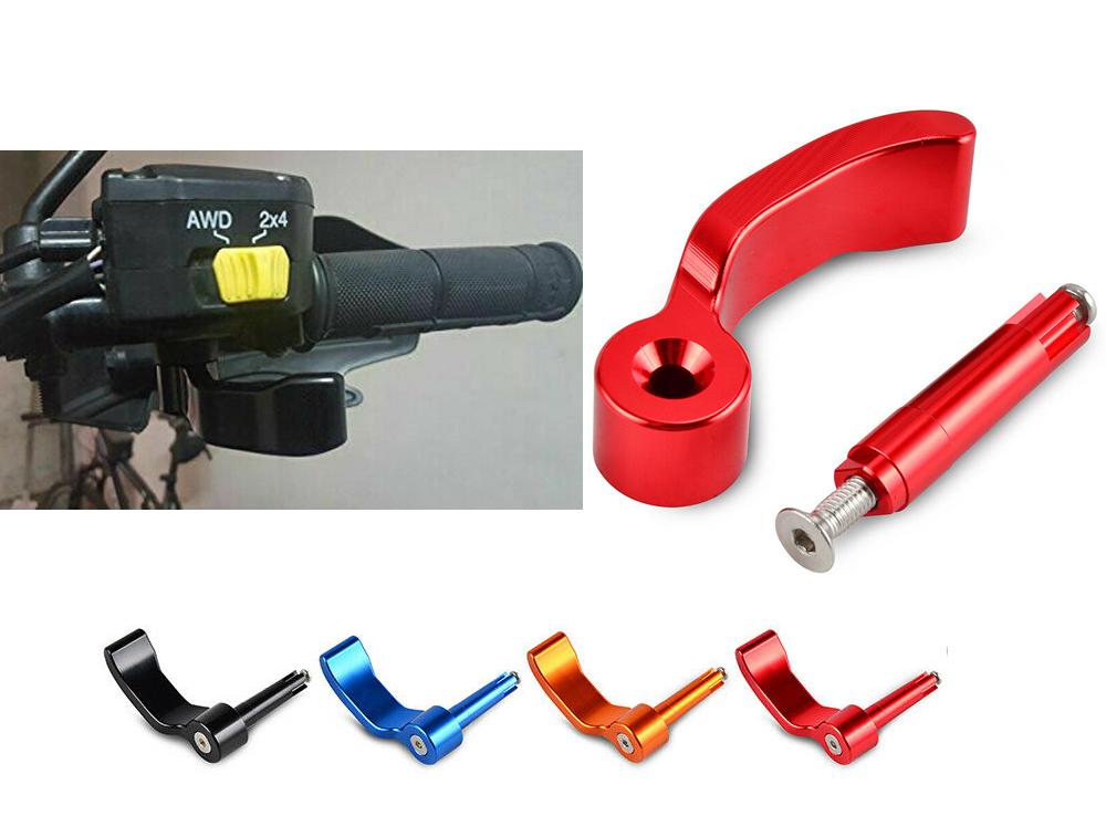 Billet Thumb Throttle Control Lever For Polaris Sportsman / Scrambler  500/850/1000 2009 - 2018