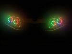 Can Am Halo Rings headlights Canam Outlander RGB LED multicolor chase bluetooth