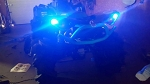 Can Am LED lights Outlander Renegade Maverick clear lens reflectors tail