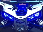 Yamaha YXZ 1000 Led Halos rings lights set angel eyes