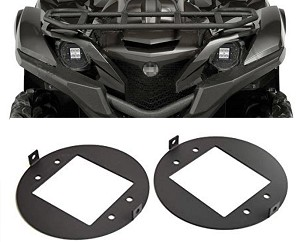 Yamaha Grizzly  Headlight to LED Light Pod Brackets 700 550