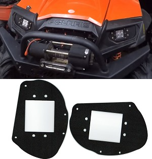 Polaris RZR 800 /900xp / 570 Headlight to LED Light Pod Brackets