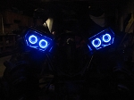 Halo Rings for Headlights - LED angel eye set of 4 - Can-am Renegade