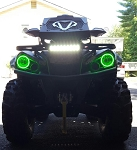 Can Am Outlander 450 570 500 Halos rings lights set 2 Outlander L -   angel eyes