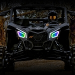 CanAm maverick X3 Led Multicolor bluetooth Halos